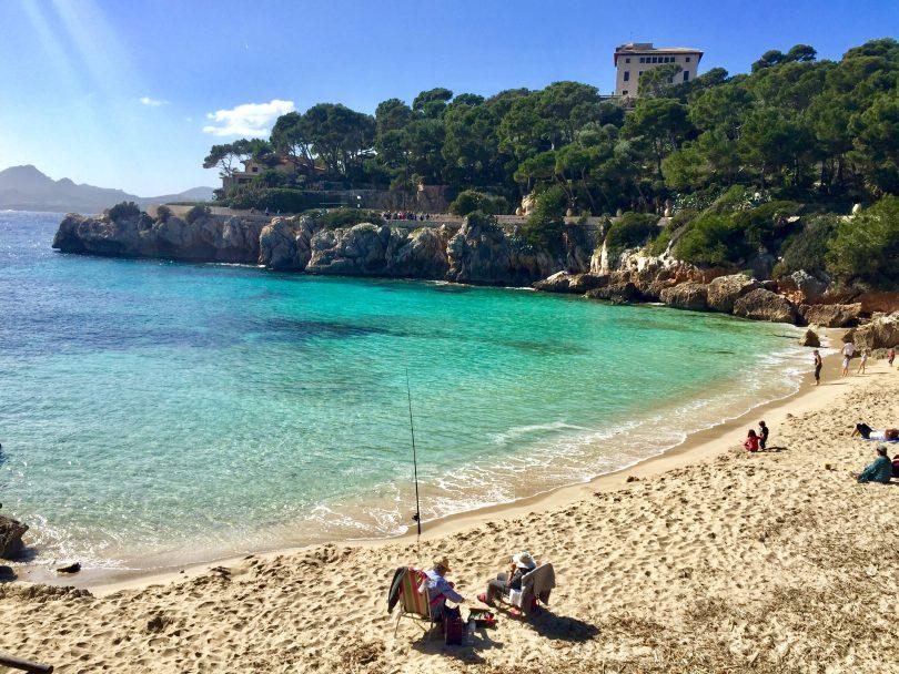 Mallorca Bucht Cala Gat