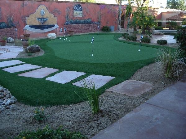 outdoor putting greens add arizona