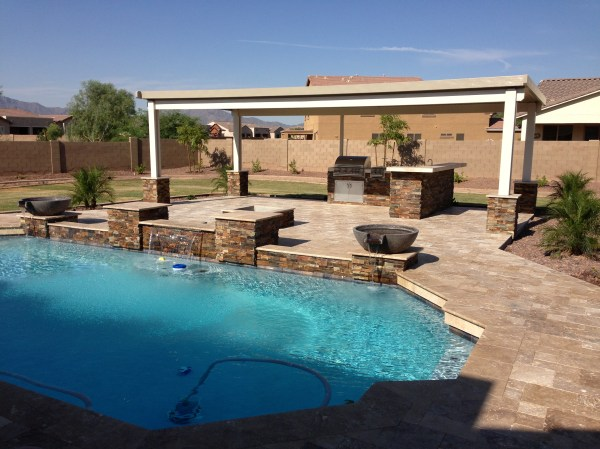 Arizona Back Yard Landscape Design