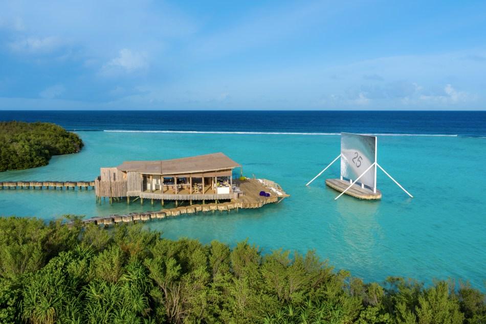 Soneva Jani Maldives Floating Cinema