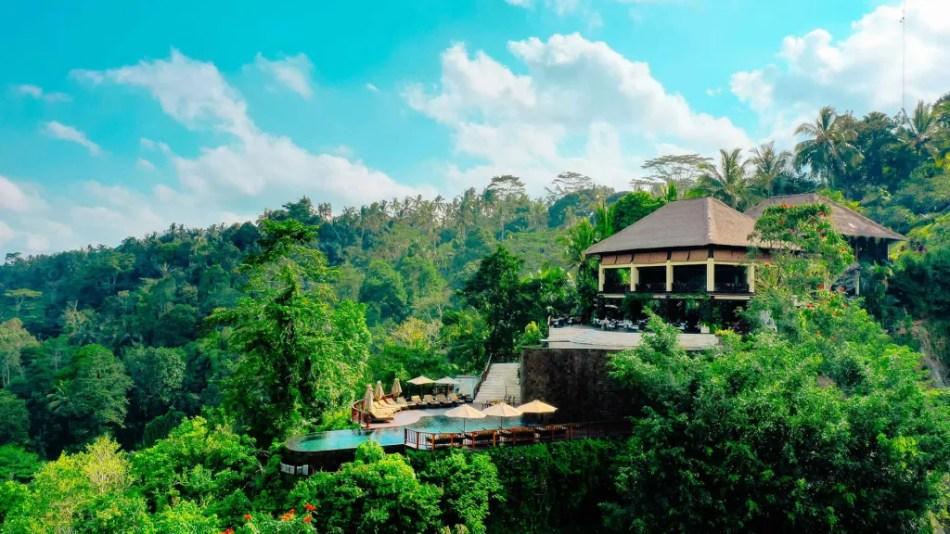 Hanging Gardens of Bali, Gianyar infinity pool