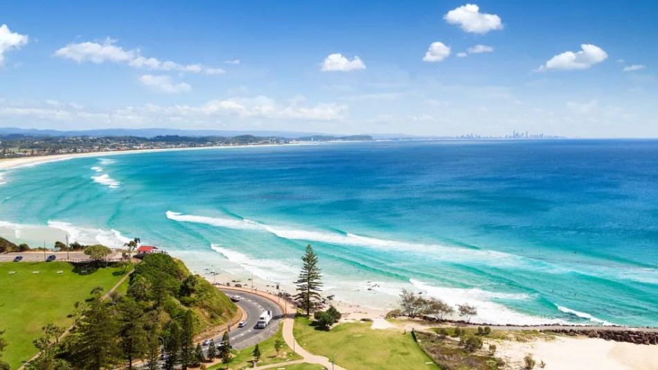 Kirra Beach Holiday in Queensland