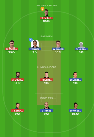 CD vs NK Dream11 Team for the 4th match