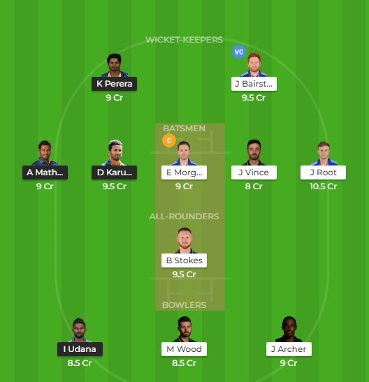 ENG vs SL Dream11 Prediction, Match Preview and Team News