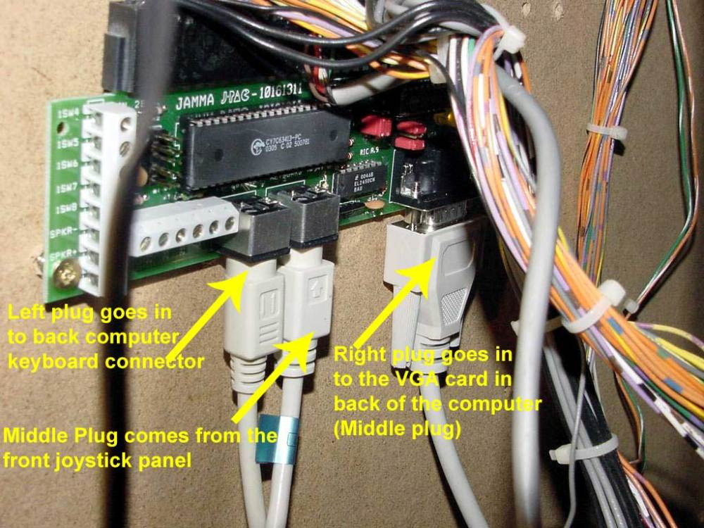 medium resolution of you want to make sure all the wires in to the back of the computer are still plugged in to the appropriate places the pictures below show the proper