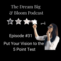 #31  Put Your Vision to the 5 Point Test