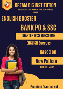 English Booster for Bank PO And SSC Exam New Pattern
