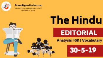 The Hindu Editorial Analysis