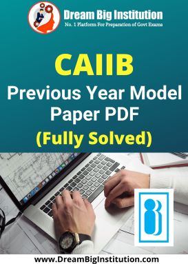 CAIIB Previous Year Question Papers PDF