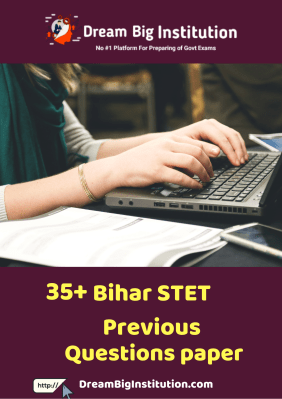 Bihar STET Previous Year Question Papers