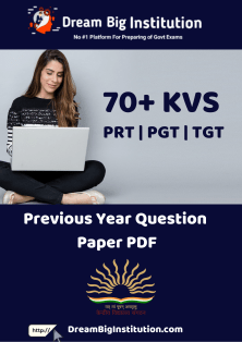 KVS Previous Year Questions Paper PDF