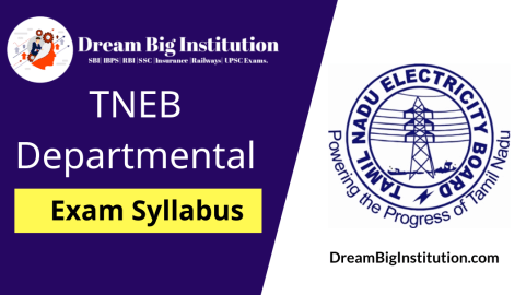 TNEB Departmental Exam Syllabus