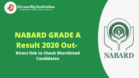 NABARD GRADE A Result 2020 Out- Direct link to Check Shortlisted Candidates