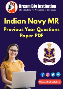 Indian Navy MR Previous year Question Paper PDF