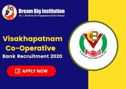Visakhapatnam Co-Operative Bank  Recruitment 2020