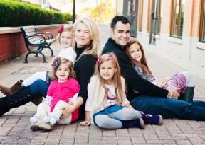 Maria DelBaccio and her lovely family.