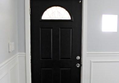 Black Front Exterior Doors