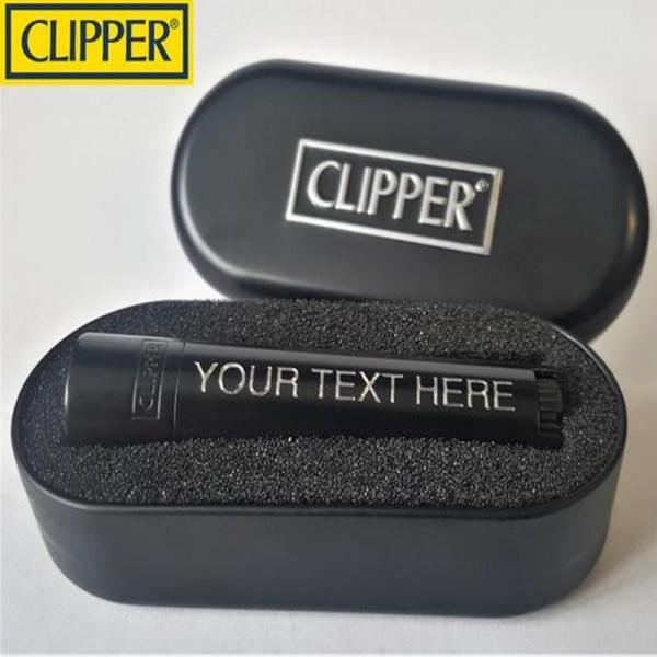 Clipper Black Matt Jet flame-9436