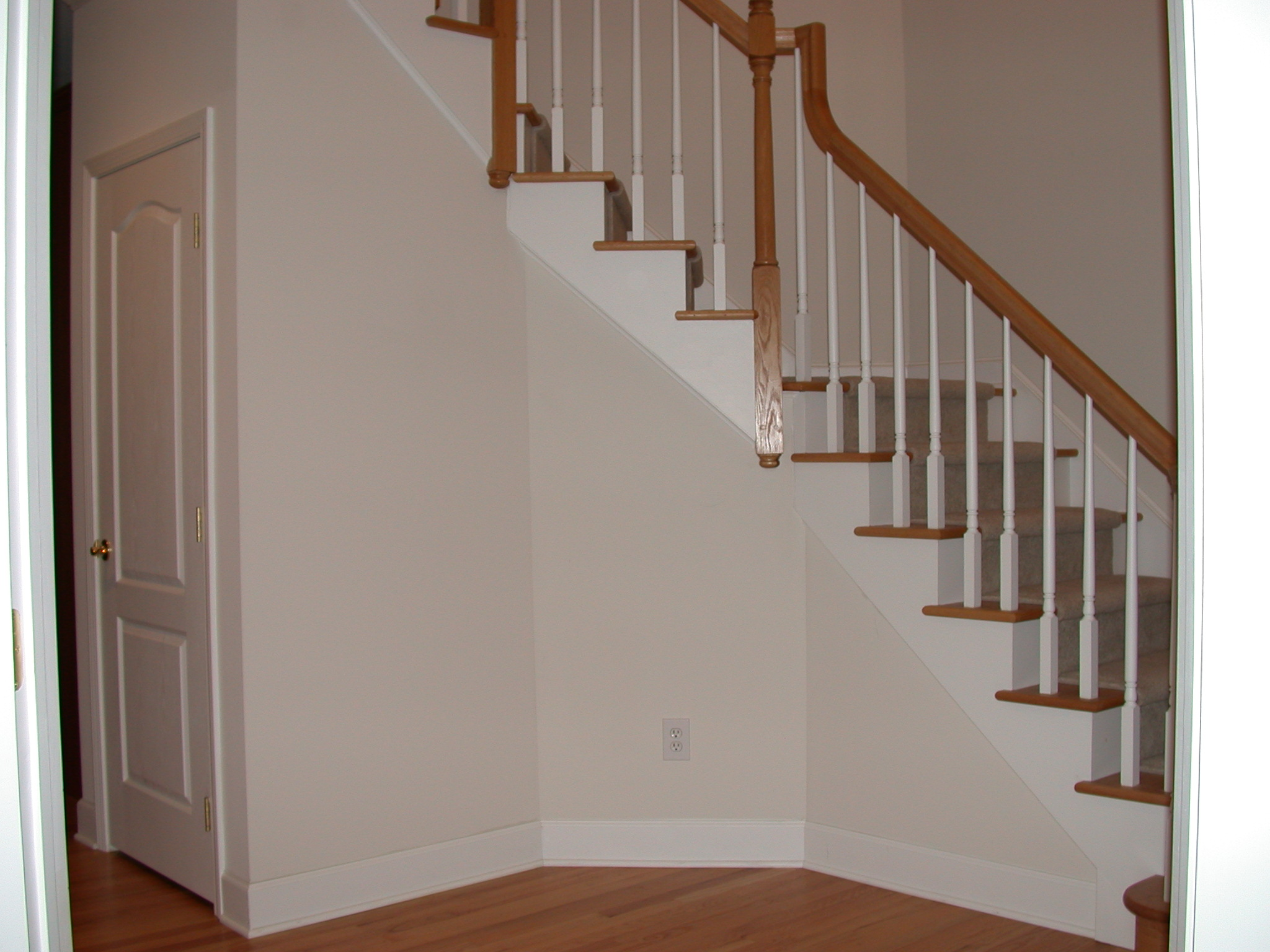 Side Stair Trim Molding Ideas
