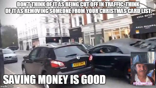 saving money is good