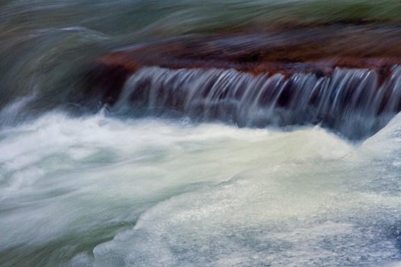 Water Flow On Bridalveil Creek