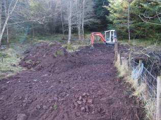 Car park is started