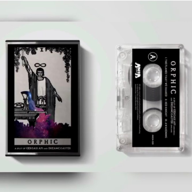 Orphic cassette featuring Dreamcoaster