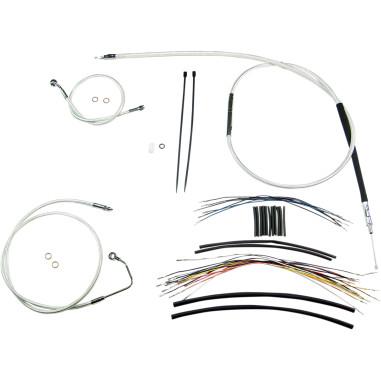 Handlebar Cable Kit Designer SCII 12-14 FLHTCU 08-13 w/ABS