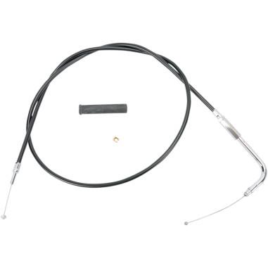 Throttle Cable Black Vinyl 42.5 B/T 99-17, XL 07-19 [0650