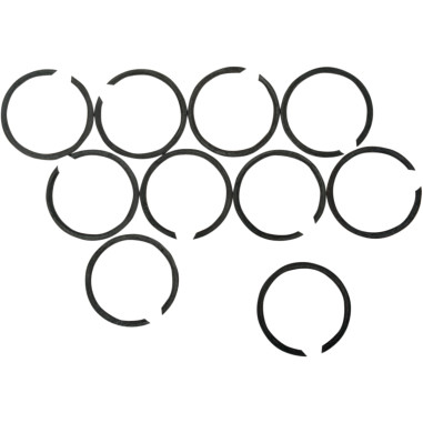 Exhaust retaining clips HD 84-16 (10-pk.) [DS-203109