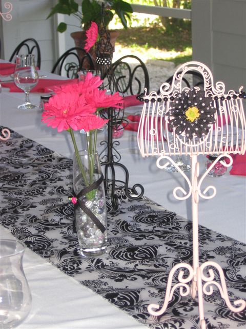 Bridal Shower  French Bistro Theme  The Finishing Touch