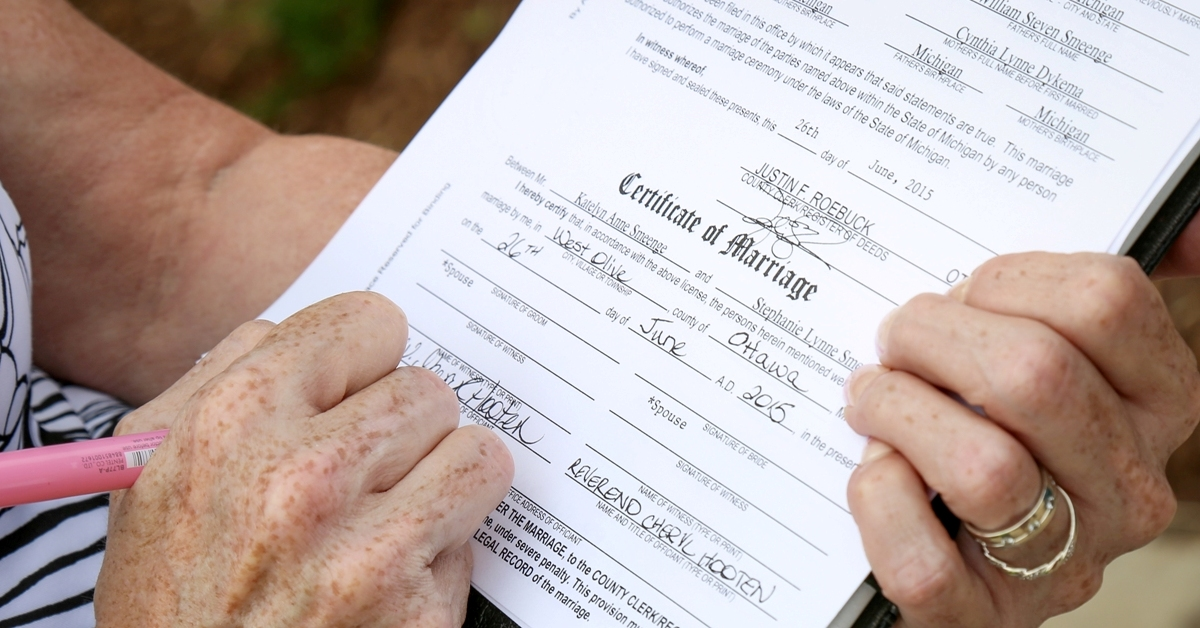 how to get a michigan marriage license