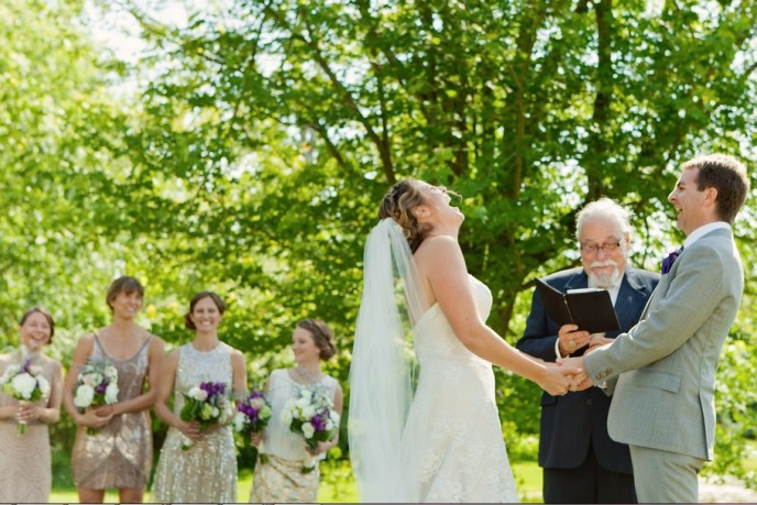 saugatuck wedding planner, custom wedding ceremony