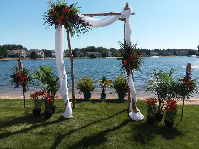 Tropical Beach Arbor