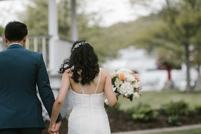 eloping in michigan with our package get hitched quick eloping in saugatuck, wedding packages, simple wedding in wicks park planned our saugatuck wedding planner