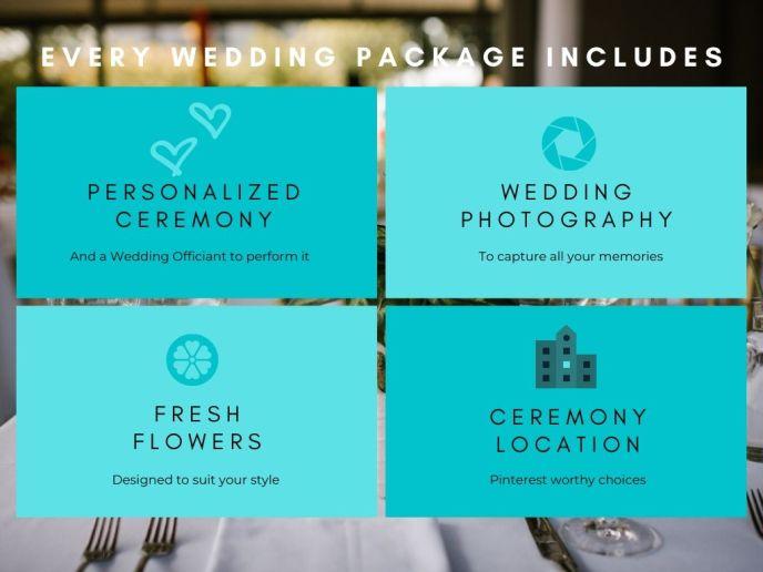 wedding essentials graphic