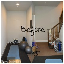 DIY Small Home Workout Room