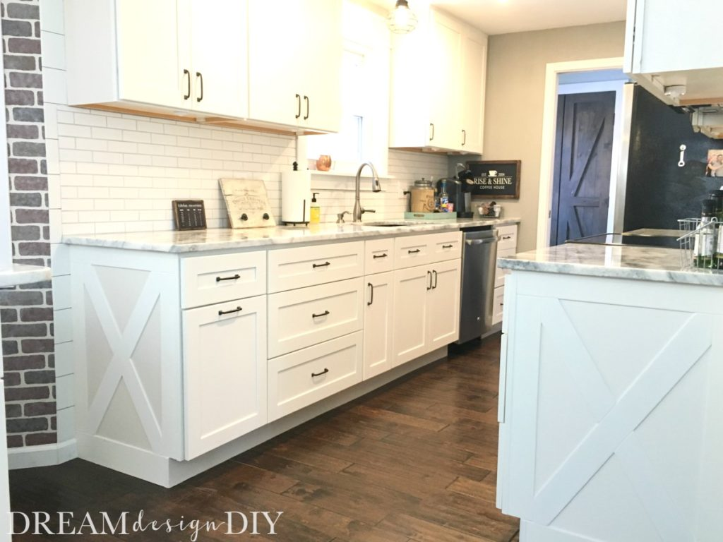 adding shelves to kitchen cabinets delta faucet parts list character your farmhouse cabinet trim