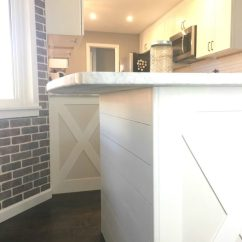 Roller Kitchen Island Price Pfister Faucets How To Add Shiplap A - Easy Budget ...
