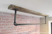 DIY Ceiling Mounted Pull Up Bar