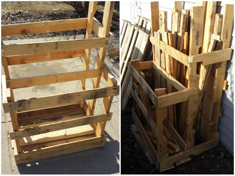Lumber Storage Rack Diy