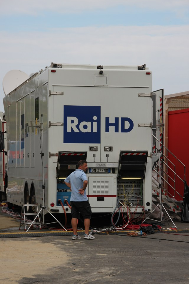 Rai Movie getting ready to transmit