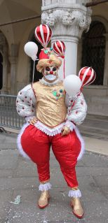 Clowning around at Venice Carnival