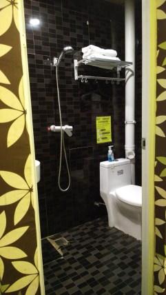 Decent attached bathroom