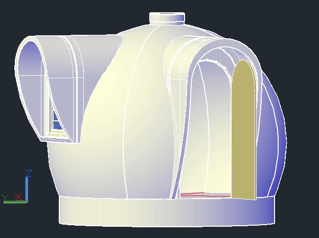 DreamDome 3.0m 3D render