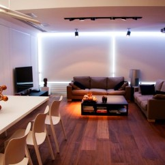 Led Lighting For Living Room Gliders Modern Decoration With Dreamehome