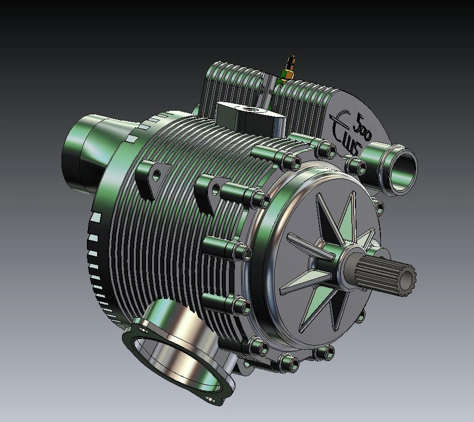 James Watt Rotary Engine