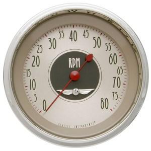 "Classic Instruments All American Nickel - 3-3/8"" Tachometer"