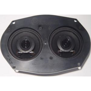 Dual Front Speakers - 55-60 Chevy Fullsize
