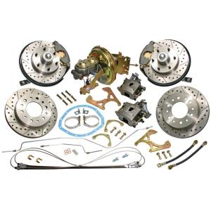 Complete Front & Rear Disc Brake Conversion - 67-72 Chevy & GMC Pickup
